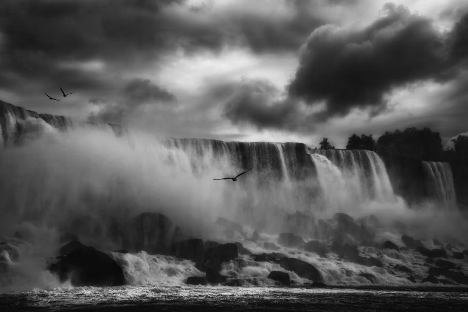 A piece of fine art art photography titled Powerful Splendor by Yvette Depaepe