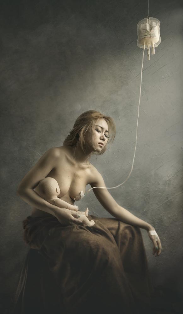 A piece of fine art art photography titled Hope Transfusion by Sebastian Kisworo