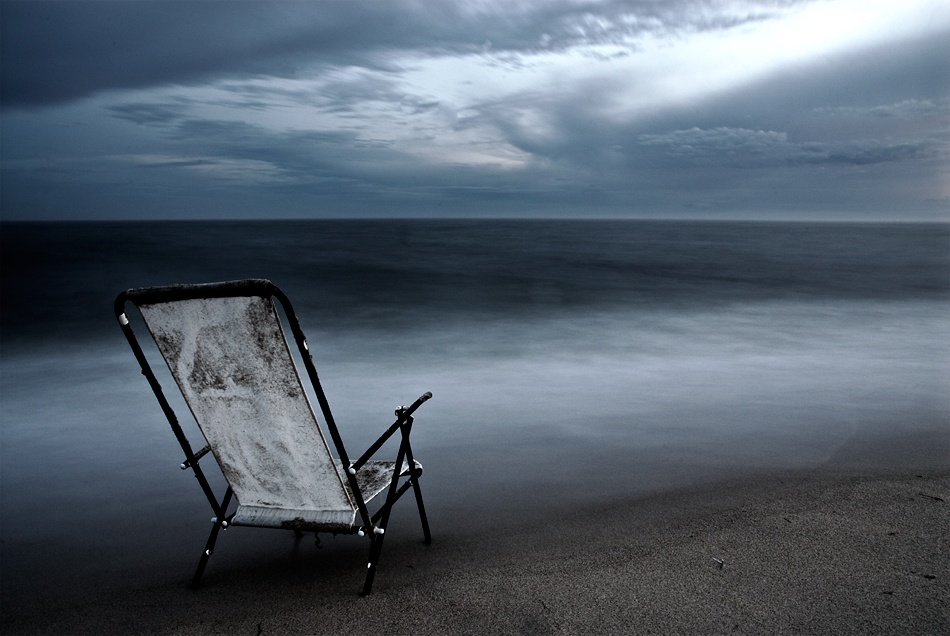 A piece of fine art art photography titled Summer's Over by David Christoffersson