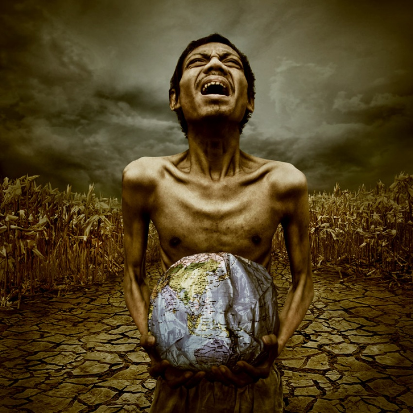 A piece of fine art art photography titled Earth's Sorrow 2 by final toto