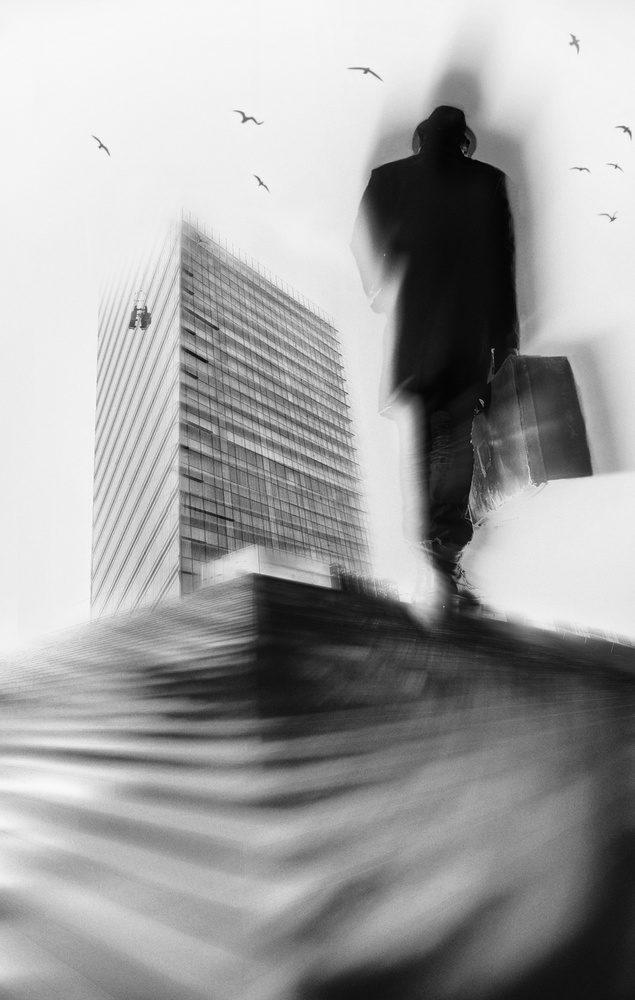 A piece of fine art art photography titled The Power by eric drigny