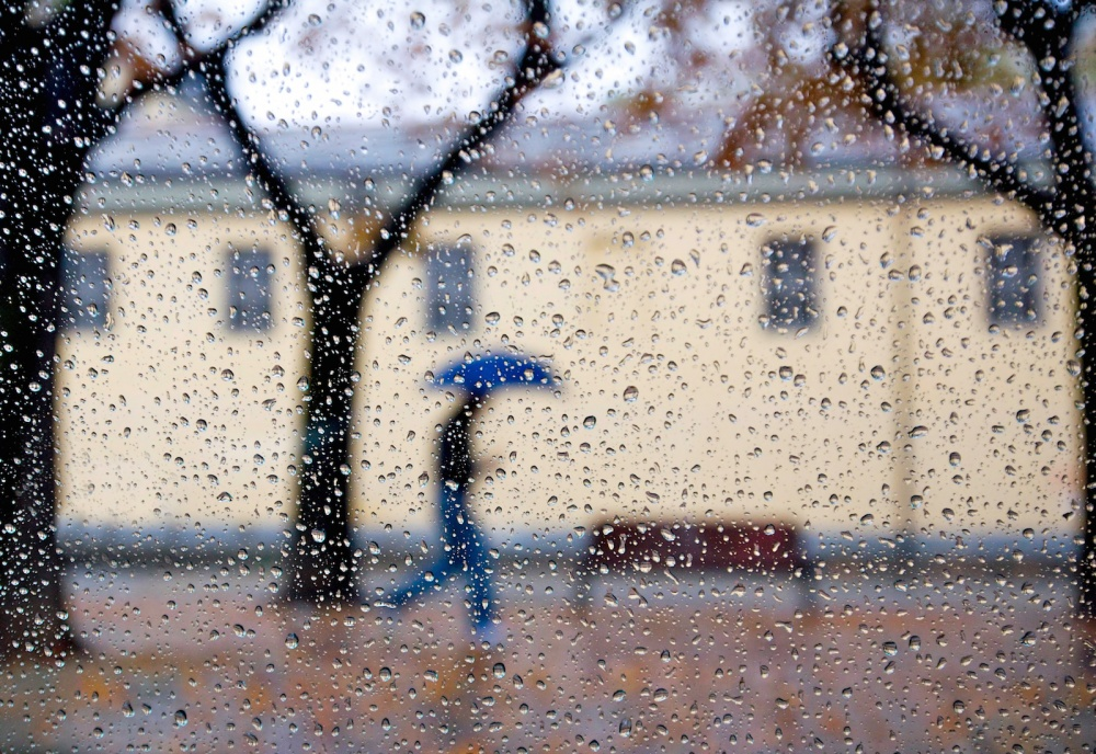 A piece of fine art art photography titled A Rainy Day by Giorgio Toniolo