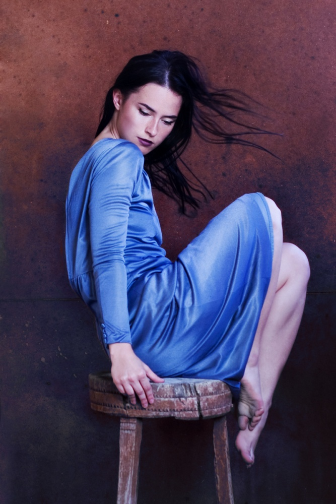 A piece of fine art art photography titled Blues by Ivana Levcikova