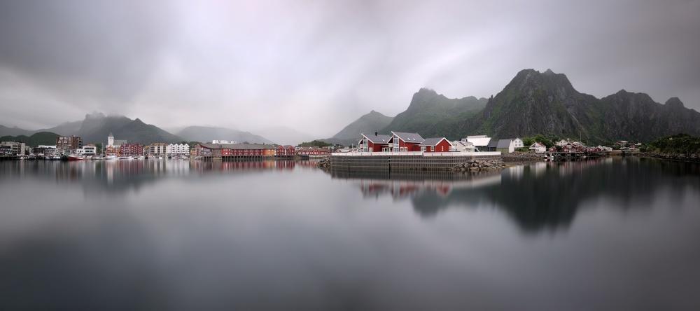 A piece of fine art art photography titled Svolvær by Pawel Kucharski