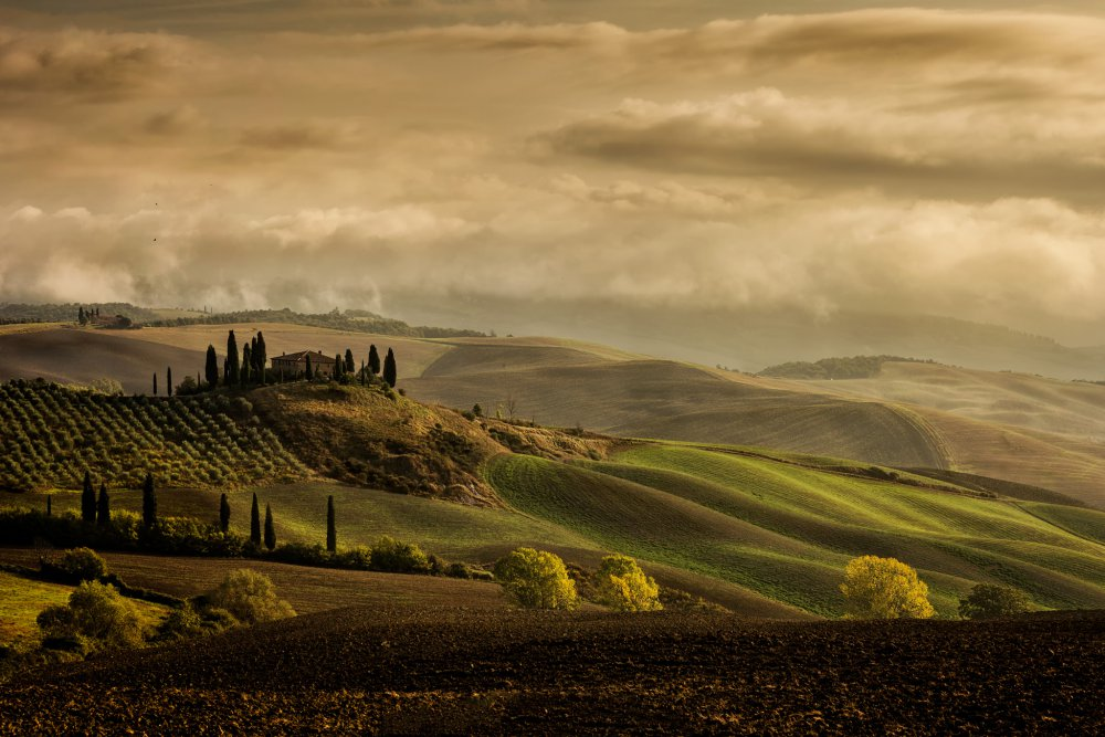 A piece of fine art art photography titled The Land Where Dreams Come True ! by Luca Vescera