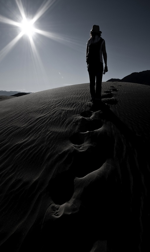 A piece of fine art art photography titled Chasing Tracks by robbin reumer