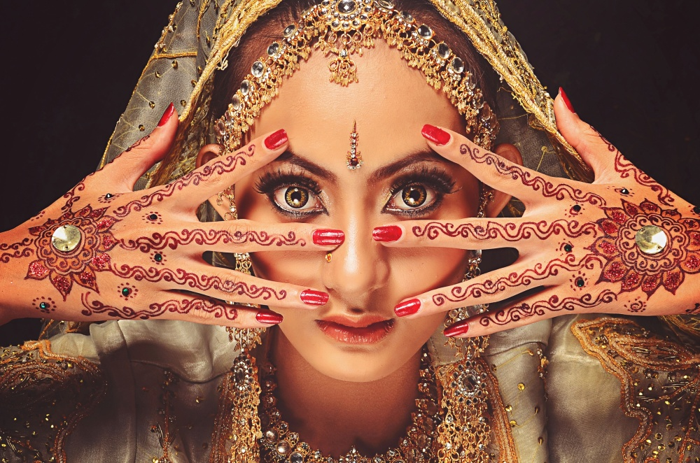 A piece of fine art art photography titled Henna by sarah mh
