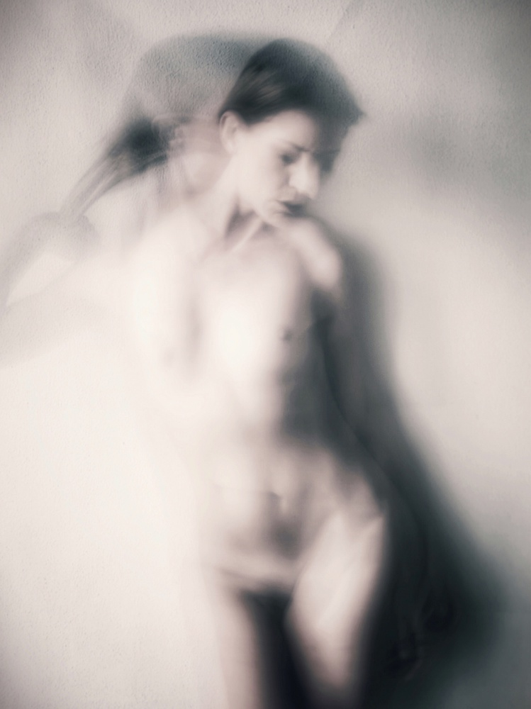 A piece of fine art art photography titled Olga by Nico Brons
