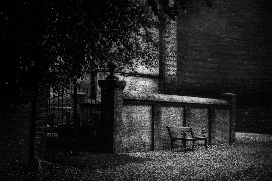 A piece of fine art art photography titled La Porte by Werner Oomens