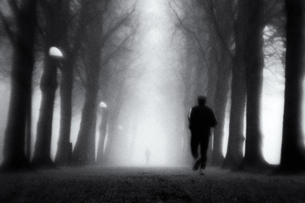 A piece of fine art art photography titled Morning Run 01 by Jørgen Feldstedt