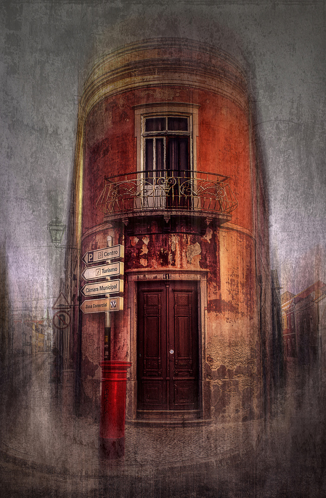 View this piece of fine art photography titled Corner house by ANTONIO SORIANO LLAMAZARES
