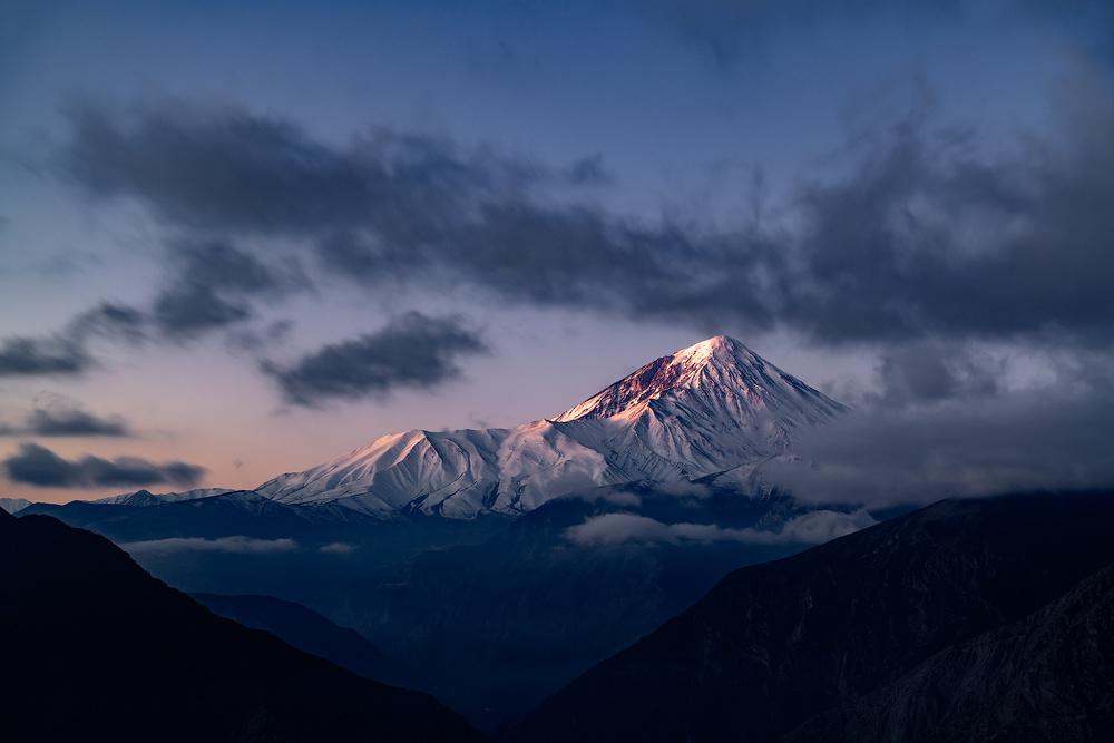 A piece of fine art art photography titled Damavand Mount by Alireza Lavaei