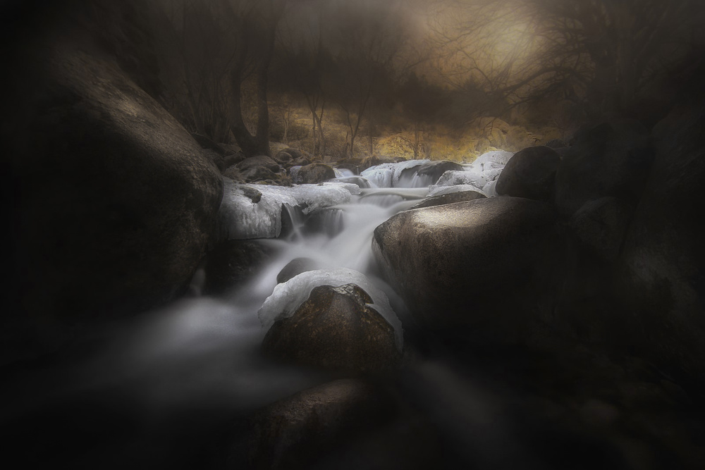 A piece of fine art art photography titled A Magical Place by Amador Funes