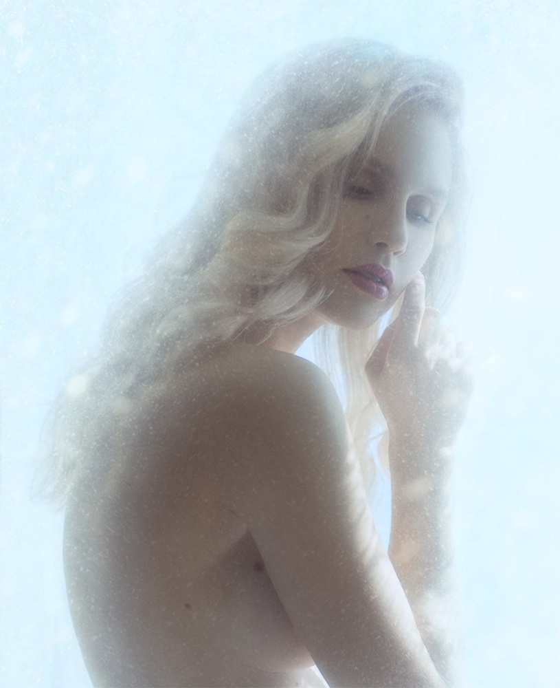 A piece of fine art art photography titled Cold by Andrew Gnezdilov