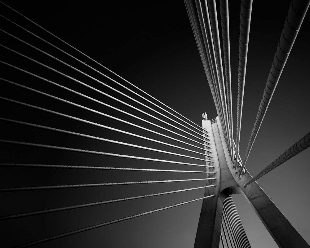 A piece of fine art art photography titled Dublin Bridges - William Dargan Bridge by Hugo Borges