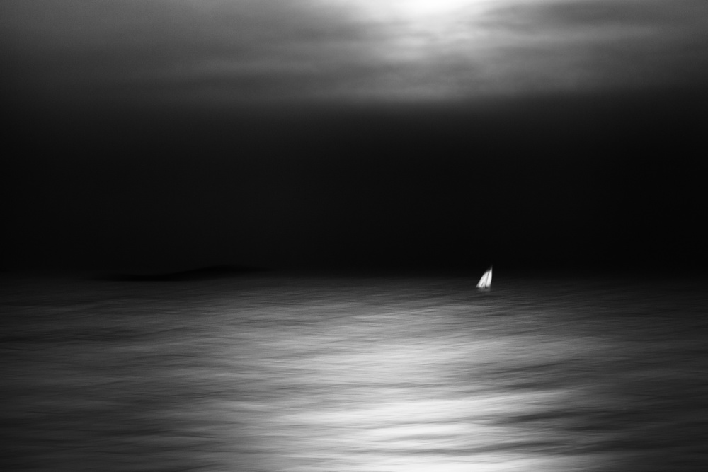 A piece of fine art art photography titled In the Moonlight by Gustav Davidsson