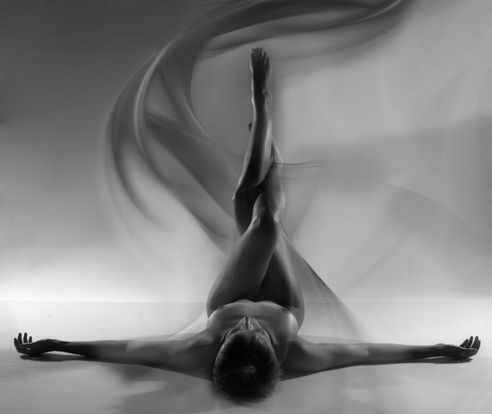 A piece of fine art art photography titled Desert Spirit by moris raskin