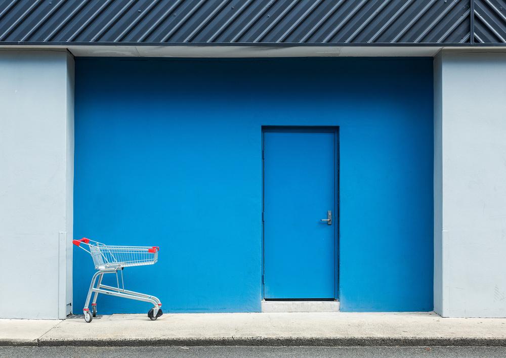 Left at the Blue Door