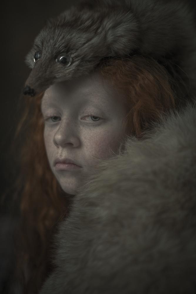 A piece of fine art art photography titled Eyes by Ewa Cwikla
