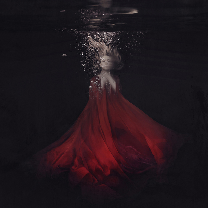 A piece of fine art art photography titled To Bloom In Silence by Brooke Shaden