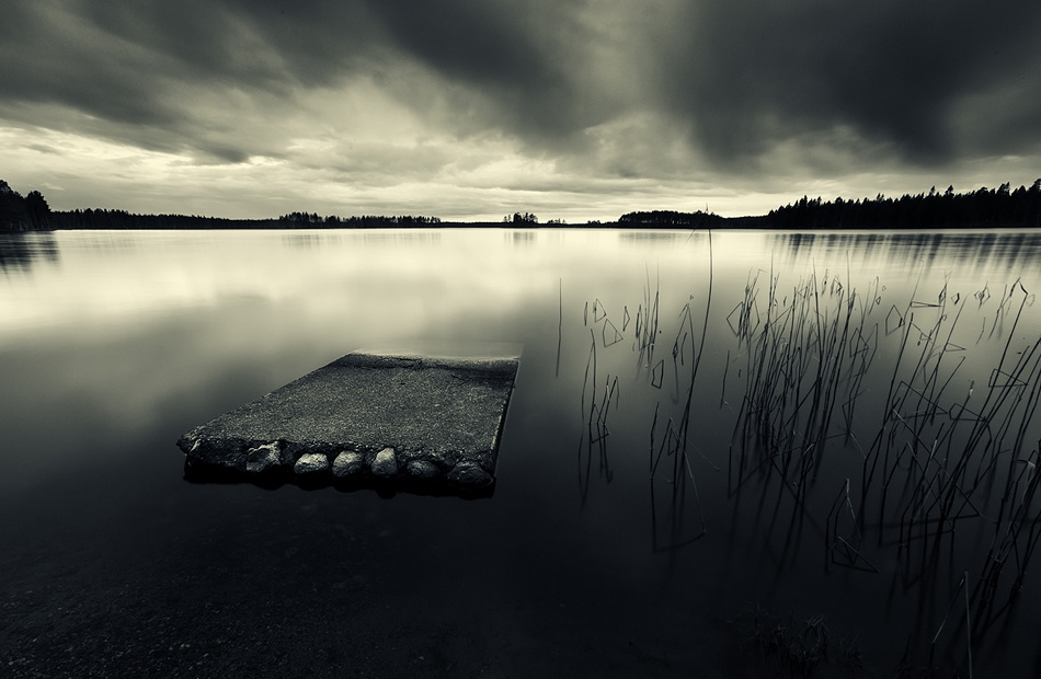 A piece of fine art art photography titled Silence by Joni Niemelä