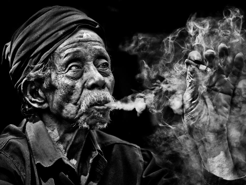 A piece of fine art art photography titled Smoke by junaidi sudirman