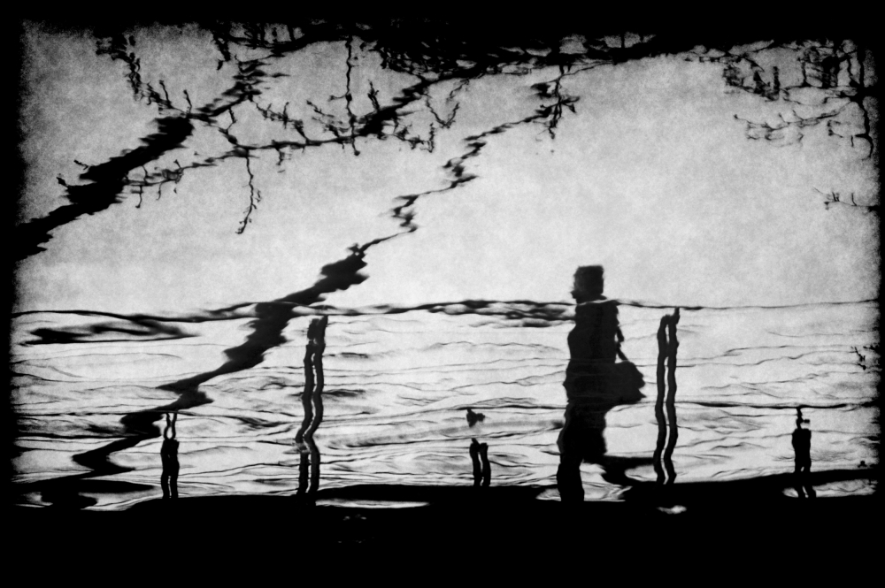 A piece of fine art art photography titled Beyond the Waterside by Anja Buehrer