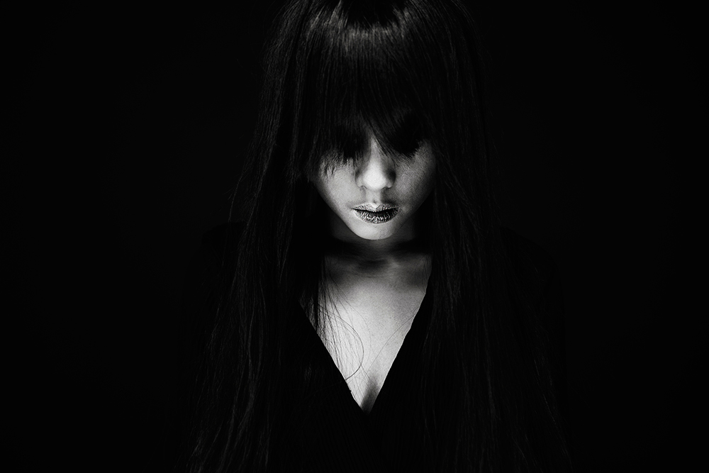 A piece of fine art art photography titled Nightmares Later by camelia qrei