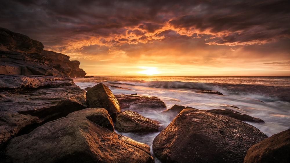 A piece of fine art art photography titled Cape Solander by Grant Galbraith