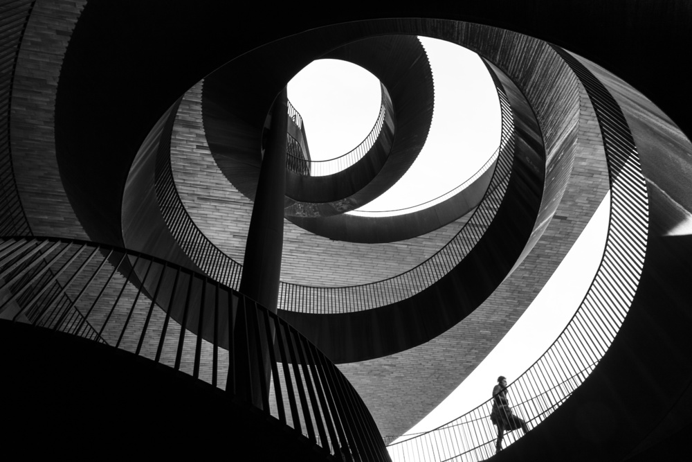 A piece of fine art art photography titled Spirals by Biagio Salerno