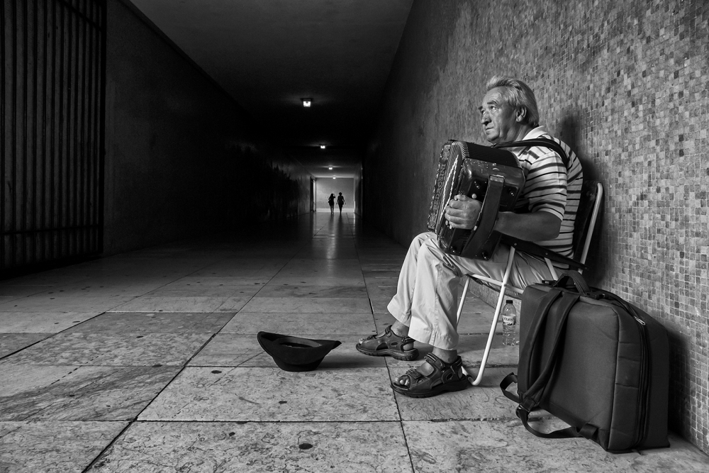 A piece of fine art art photography titled The Sound of Solitude by Luis Sarmento