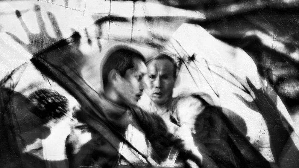 A piece of fine art art photography titled Entanglement by The Jar - Geir Jartveit