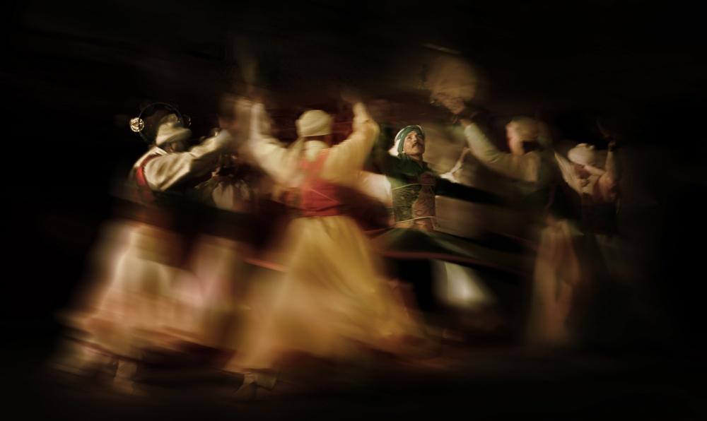A piece of fine art art photography titled Sofi Dancing 2 by Naseem Ali
