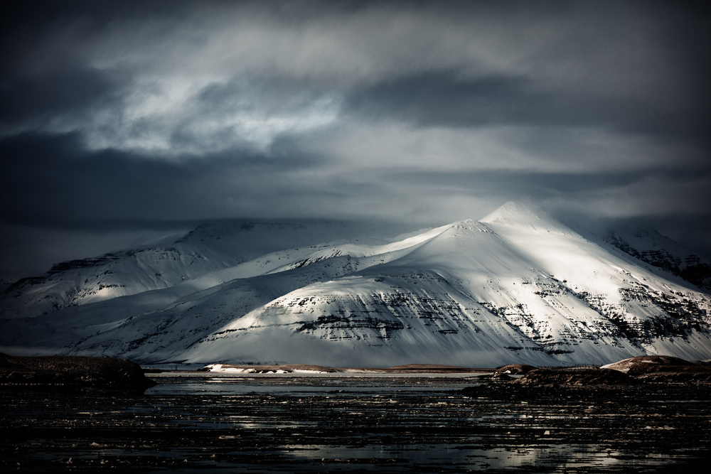 A piece of fine art art photography titled Icelandic Essentials by Adrian Popan