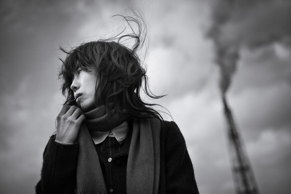 A piece of fine art art photography titled Wind by Yoshinobu Takaki