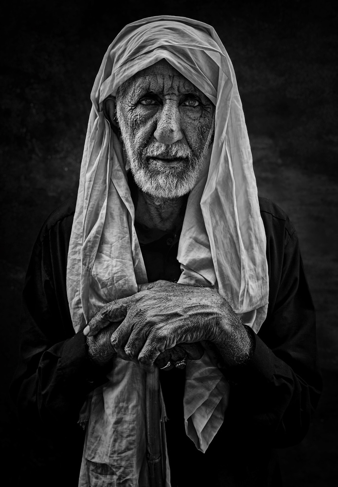 A piece of fine art art photography titled ✨ Pakistani Man ✨ by MIRZA SHEHABI