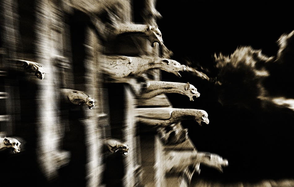 A piece of fine art art photography titled Bad Dreams by Luc Helie