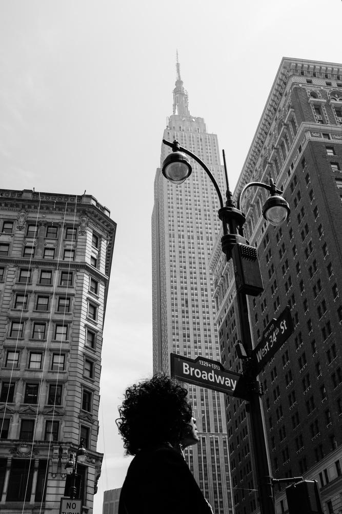 A piece of fine art art photography titled New York, New York by Gloria Salgado Gispert