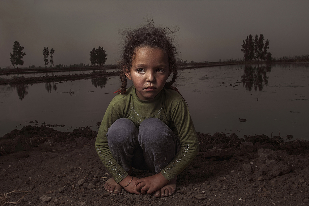 View this piece of fine art photography titled village girl by ShadyEssam