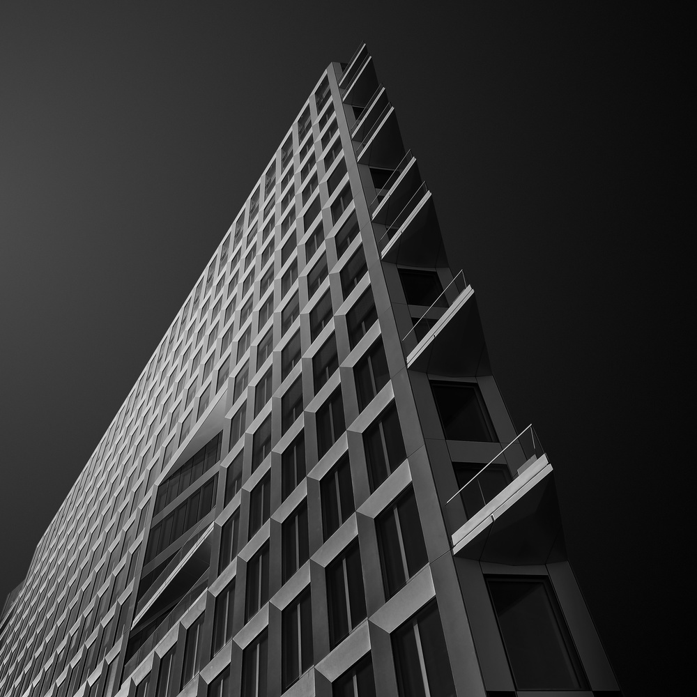 A piece of fine art art photography titled Spiky Ridge by Gediminas Karbauskis
