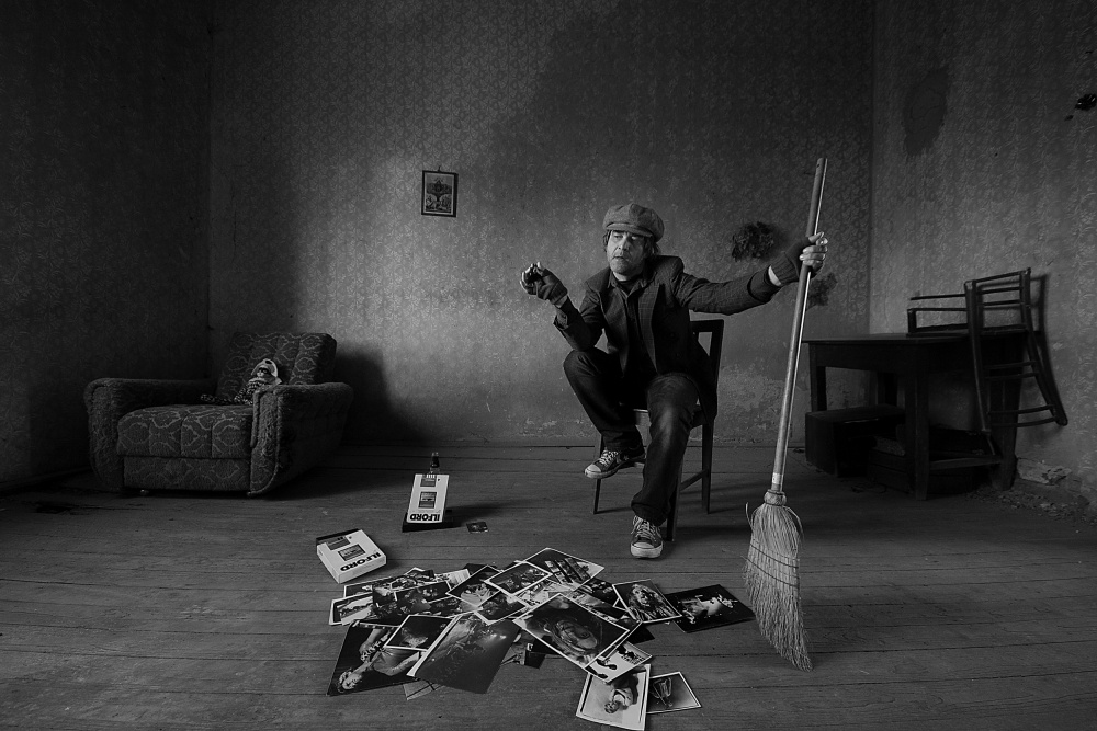 A piece of fine art art photography titled Memories Won't Go Away by mario grobenski - psychodaddy