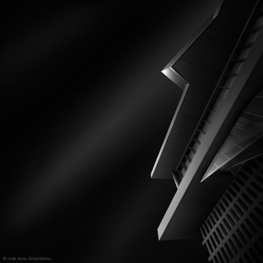 black II - abstract black