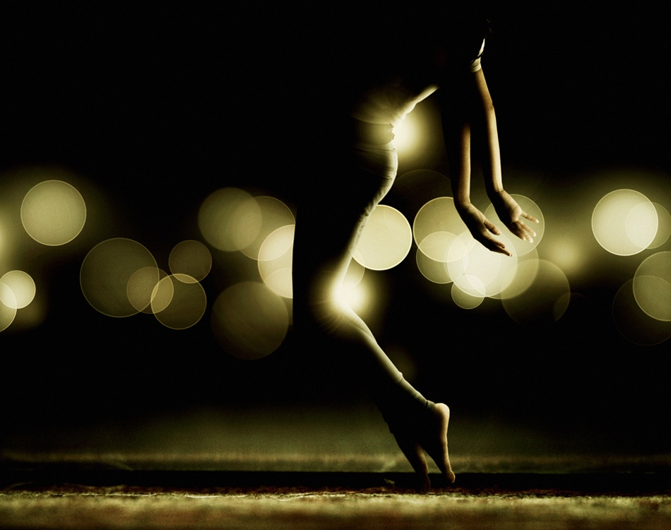 A piece of fine art art photography titled White Night by Martin Stranka