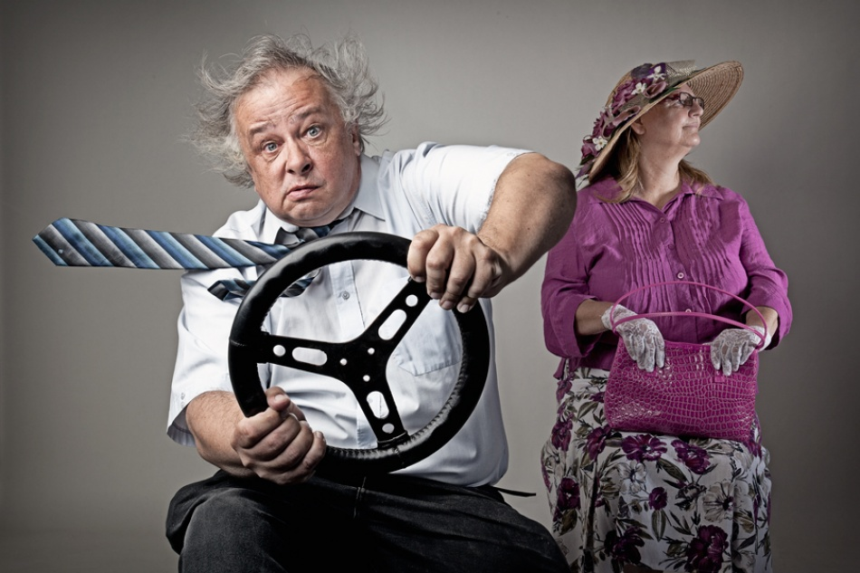 A piece of fine art art photography titled Driving Miss Daisy by Michelle Joyce