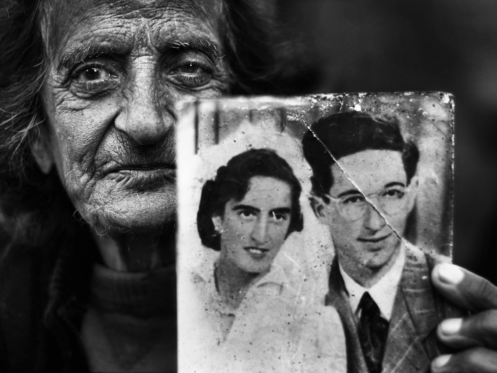 A piece of fine art art photography titled Living Memories by Nadav Dov Boretzki