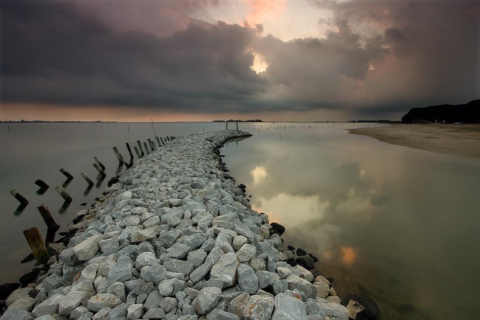 A piece of fine art art photography titled The Path by Daniele Pantanali