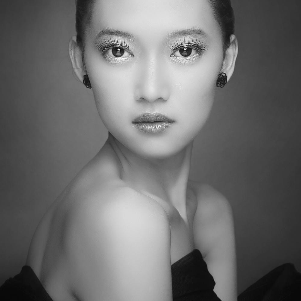 A piece of fine art art photography titled Straight by azalaka