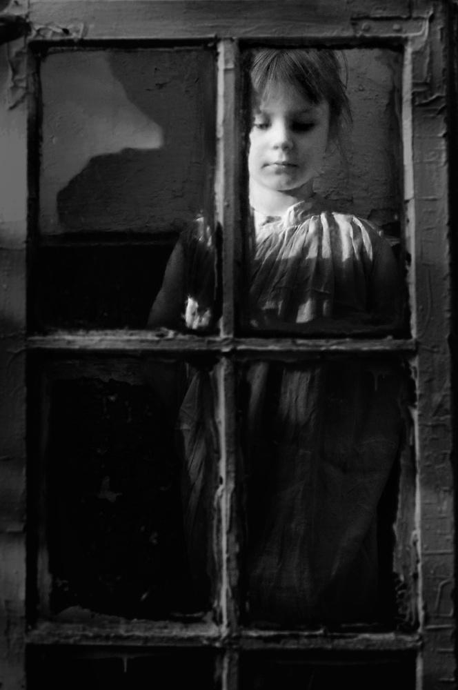 A piece of fine art art photography titled Window by Ksana But