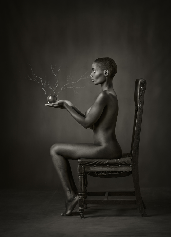 A piece of fine art art photography titled Fortune Teller by Ross Oscar