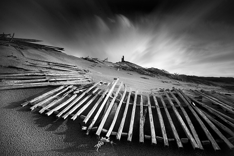 A piece of fine art art photography titled Gone With the Wind by Hugo Lopes